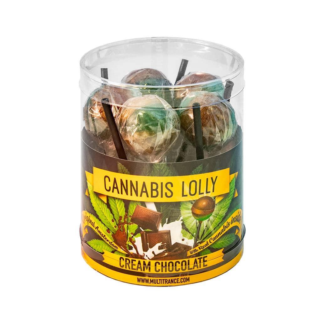 Cannabis Cream Chocolate Lollies – Gift Box (10 Lollies)