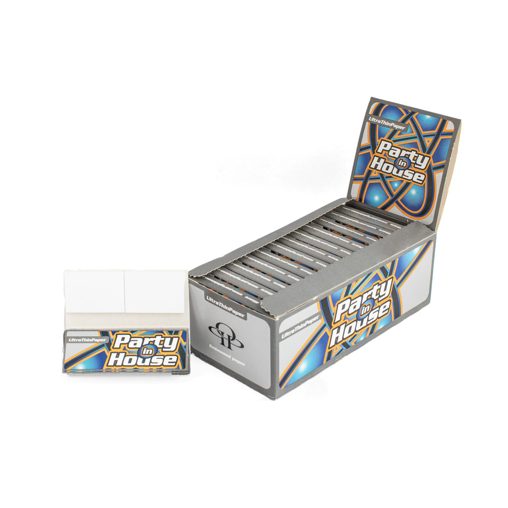 Party In House Short Ultra Thin Rolling Paper And Filter Tips