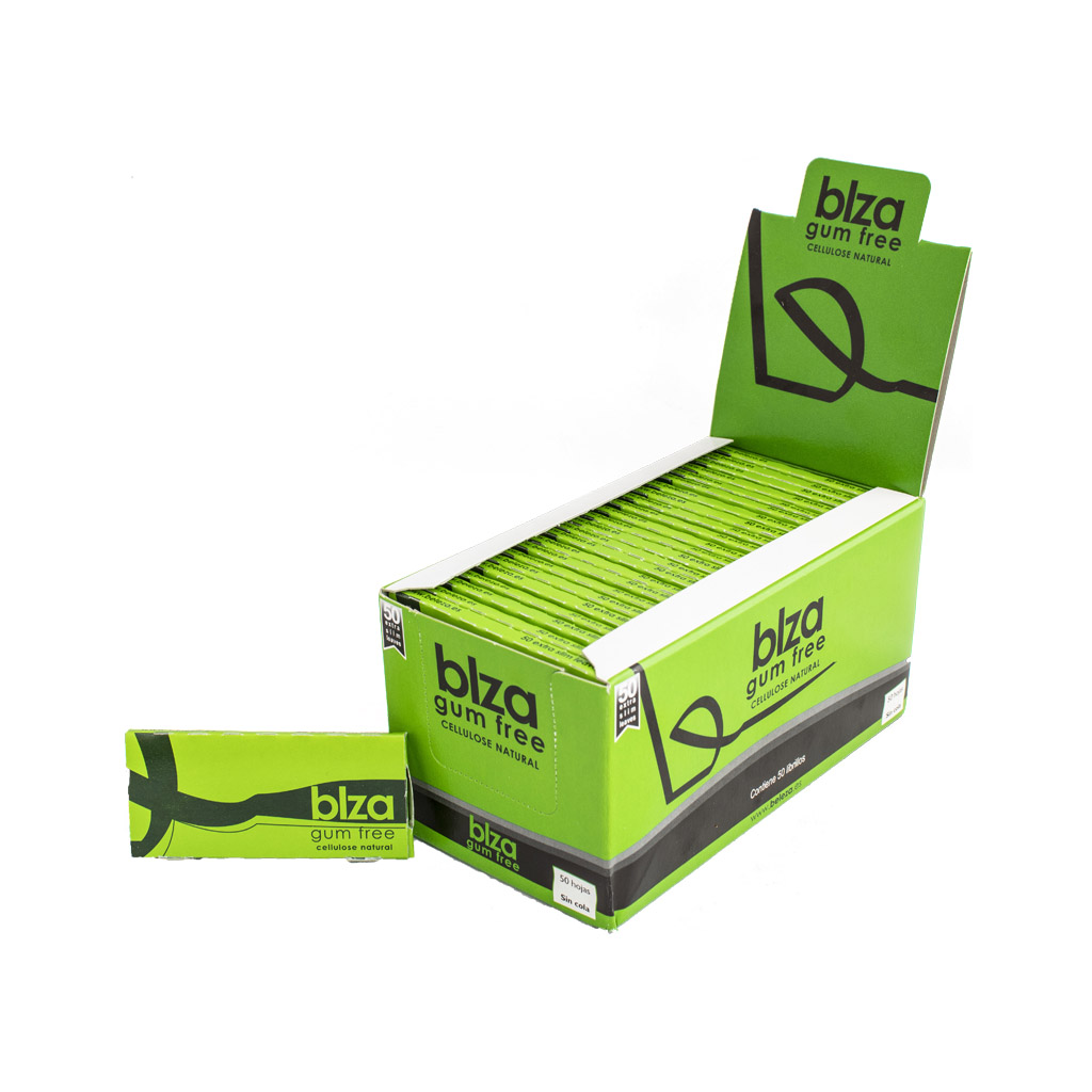 BLZA Gum Free Transparent Rolling Papers