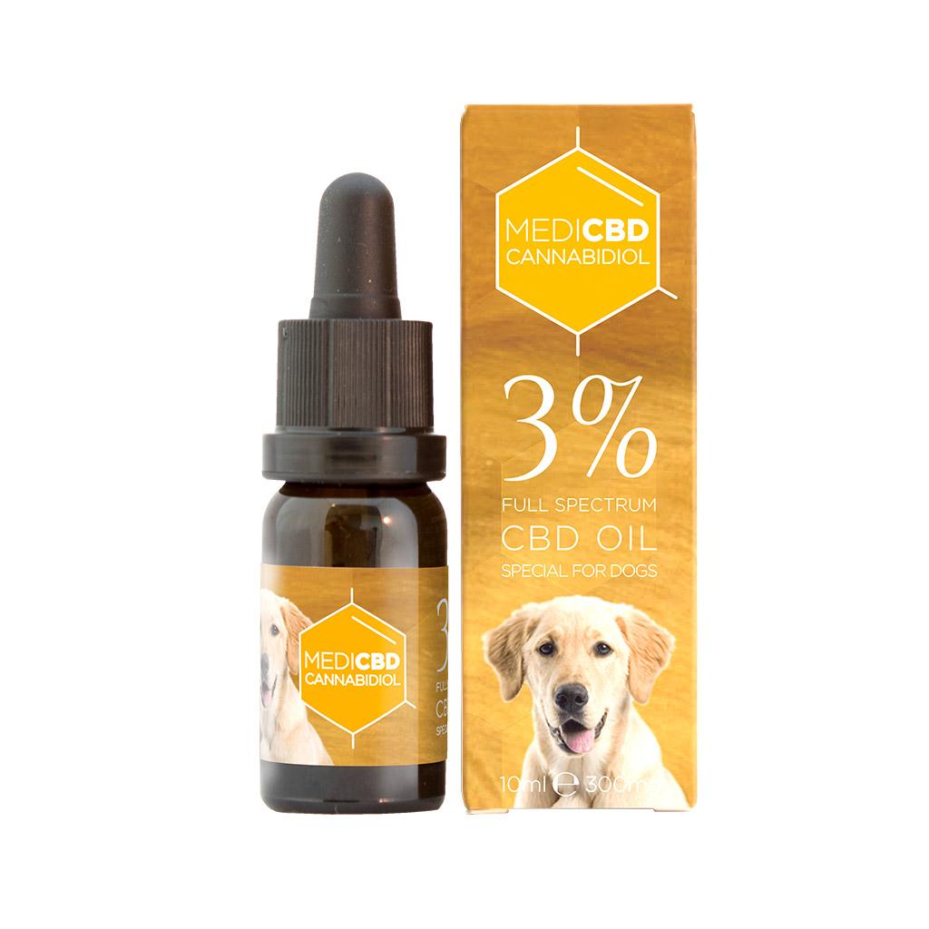 Medi CBD 3% Cannabidiol Oil for Dogs (10ml)