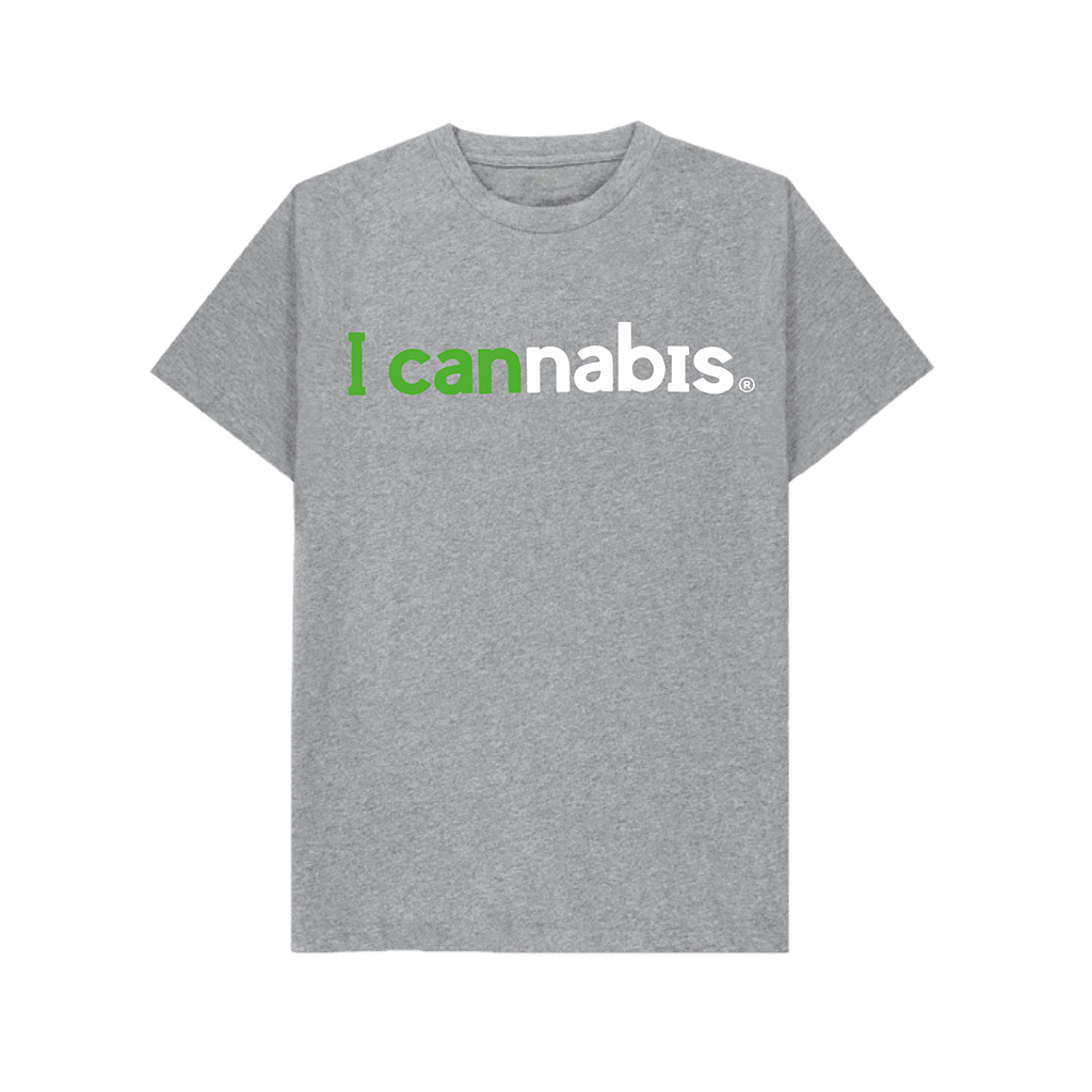 Men's i cannabis T-shirt (Gray)