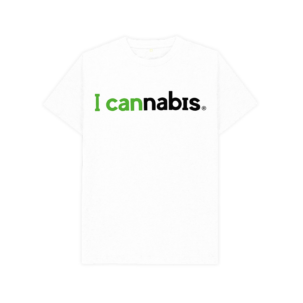 Men's i cannabis T-shirt (White)