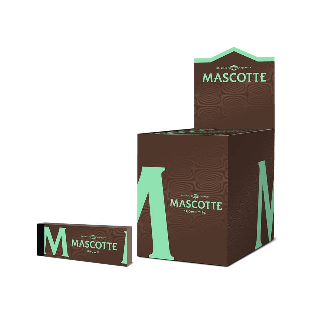 Mascotte Original Quality Brown Filter Tips