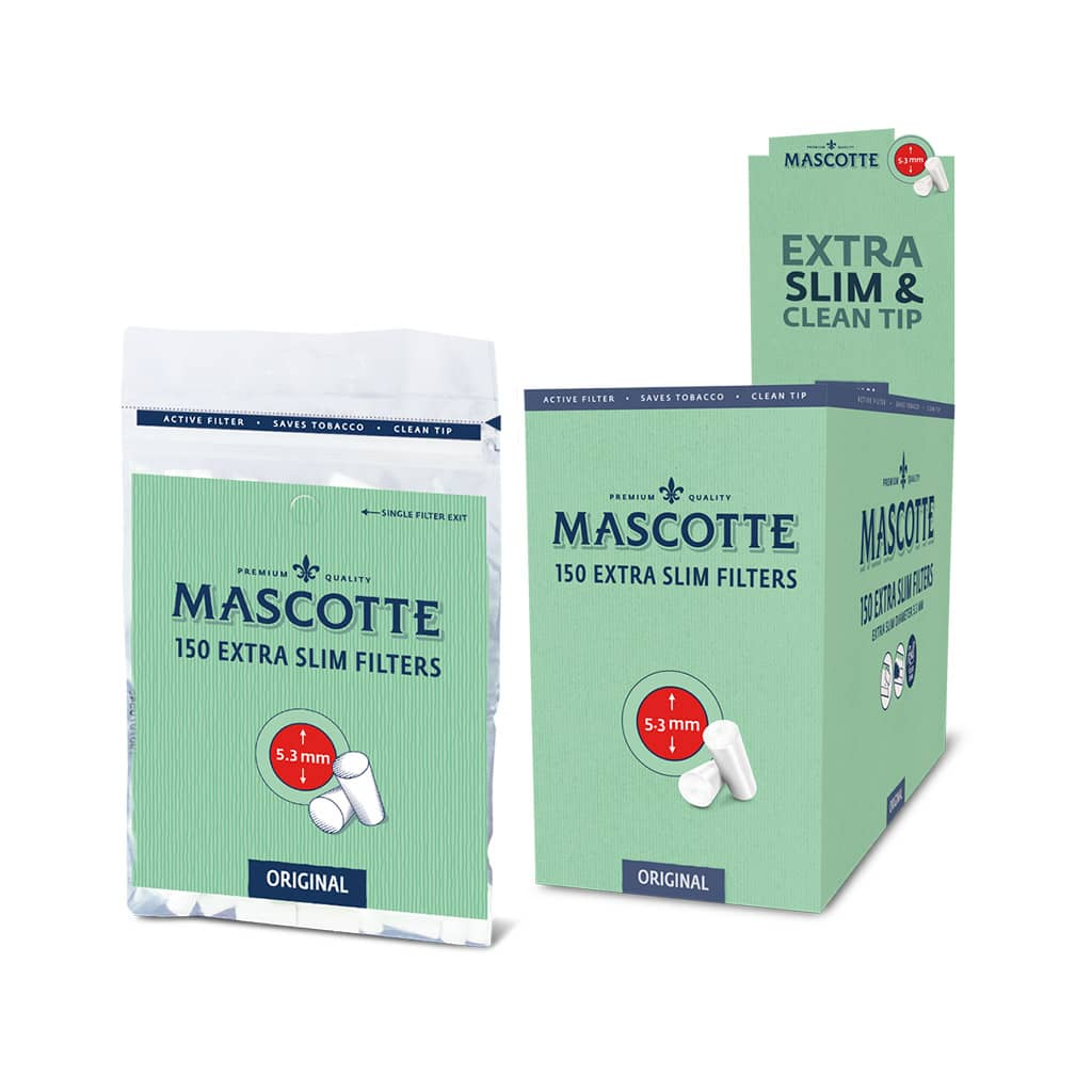 Mascotte Extra Slim Filter Bags