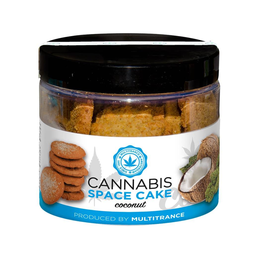 Cannabis Coconut Space Cakes