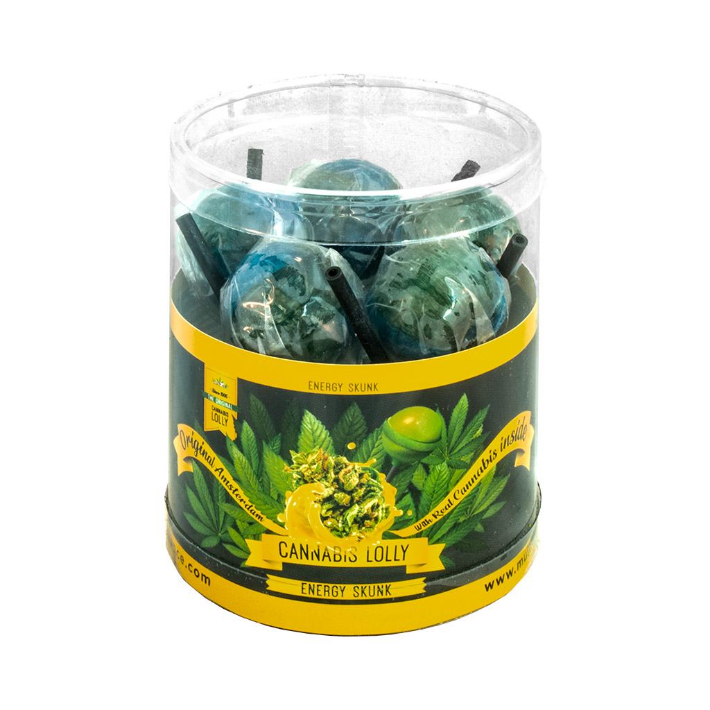 Cannabis Energy Skunk Lollies – Gift Box (10 Lollies)