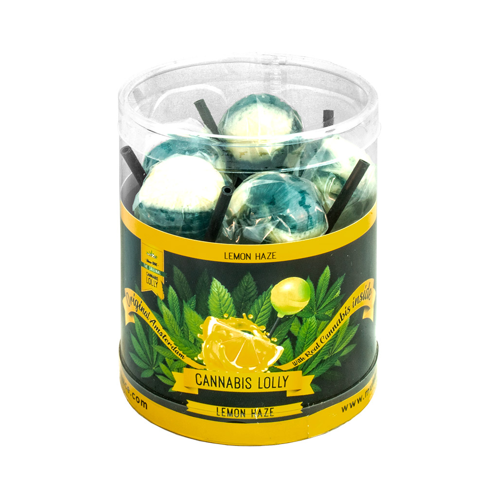 Cannabis Lemon Haze Lollies – Gift Box (10 Lollies)