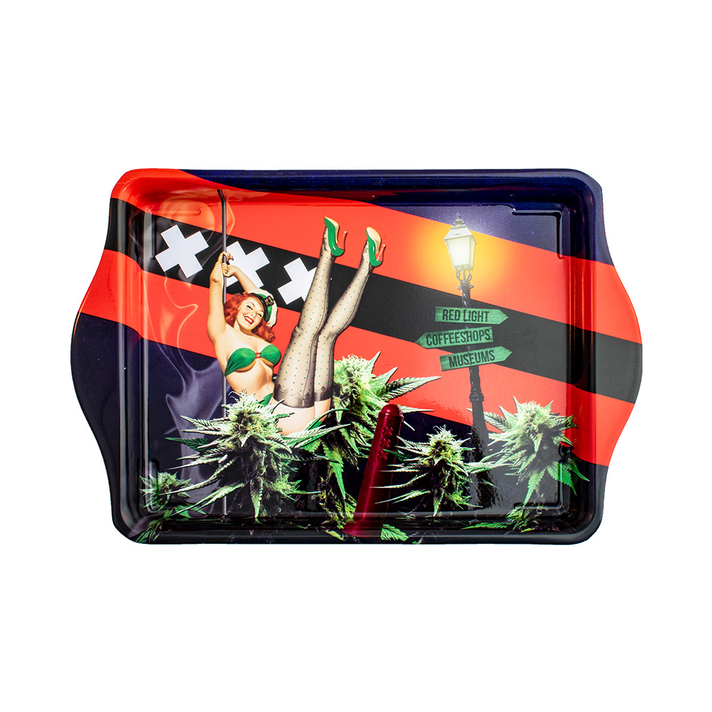 Multitrance cannabis crazy Amsterdam rolling tray