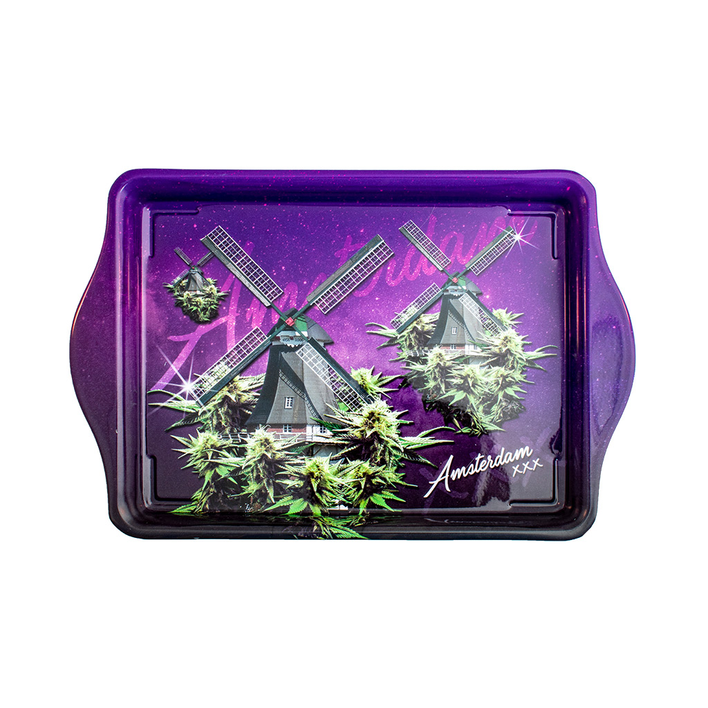 Iconic Windmills Rolling Tray