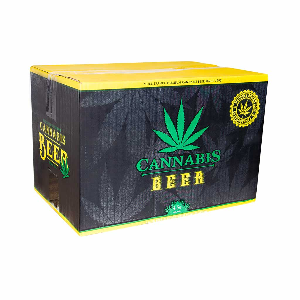 Cannabis Beer (330ml) – Hand Wrapped Black
