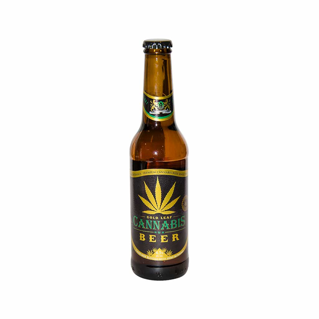 Cannabis Gold Leaf Beer (330ml)