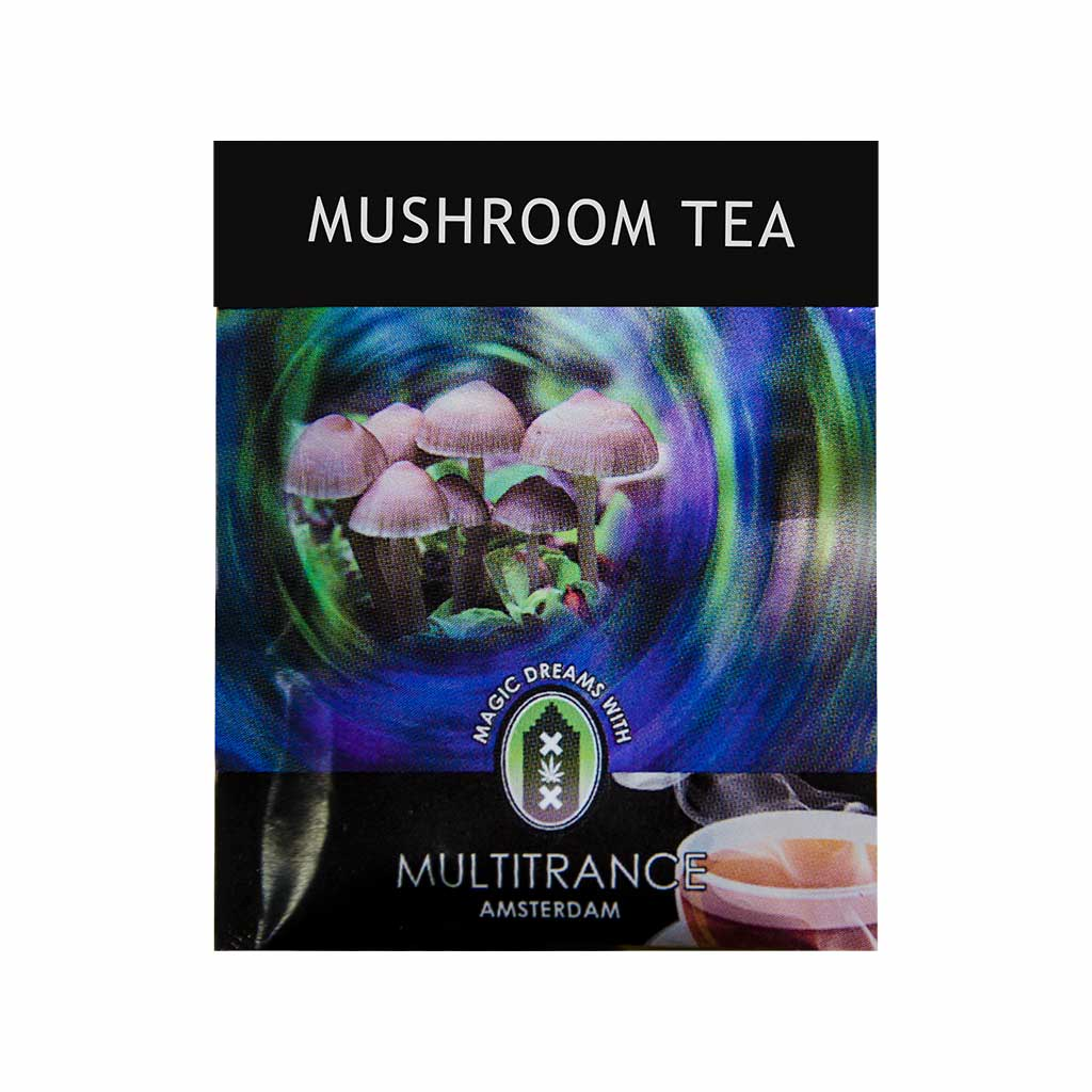 Cannabis Mushroom Black Tea (1 Teabag)
