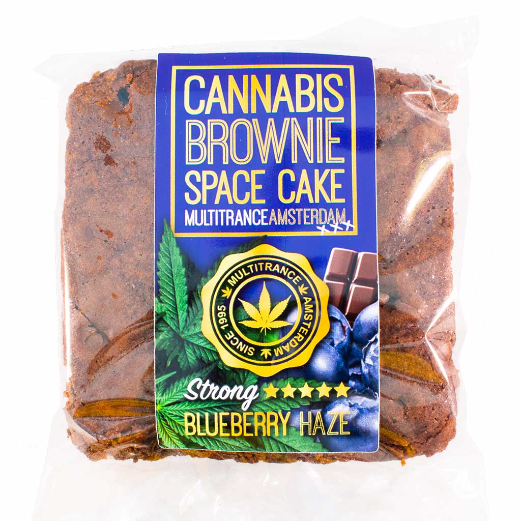 Cannabis Blueberry Brownie (Strong Sativa Flavour)