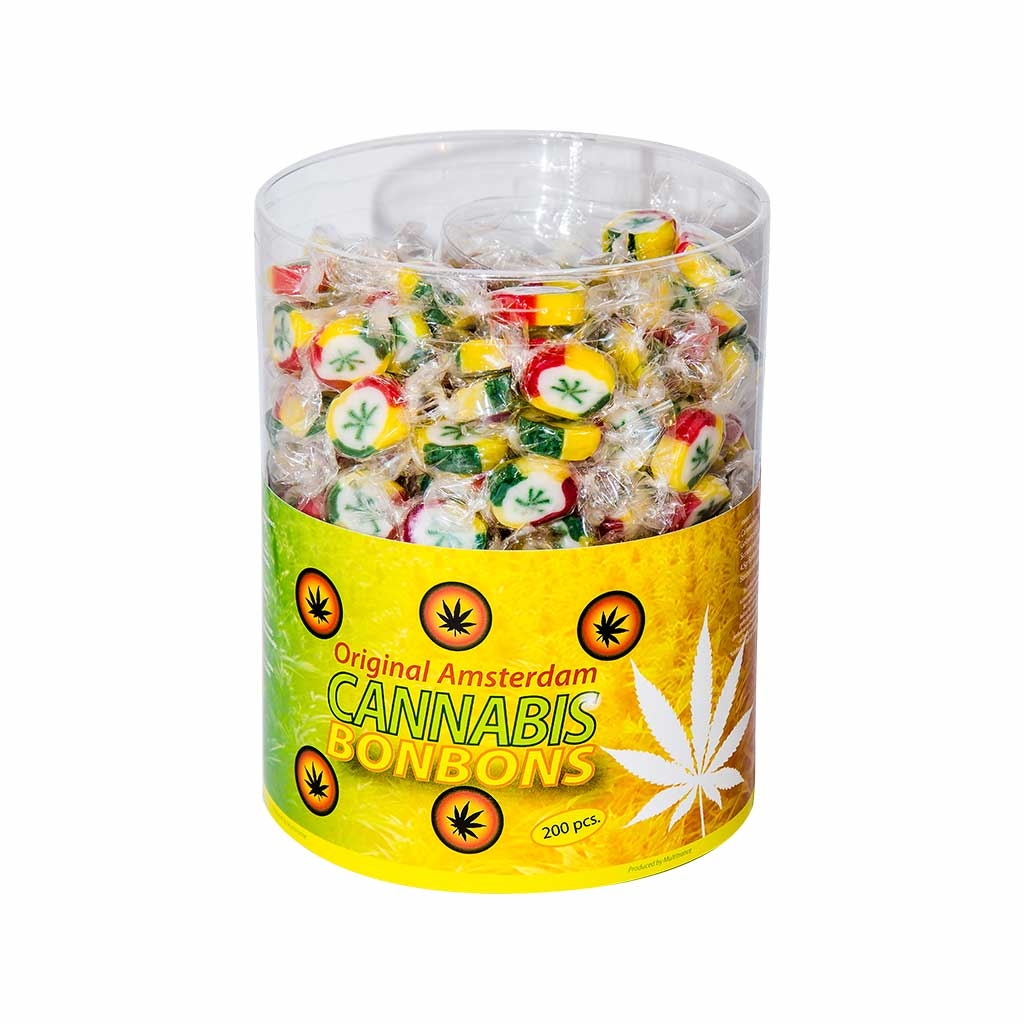 Cannabis Bonbons – Display Container (200 Bonbons)