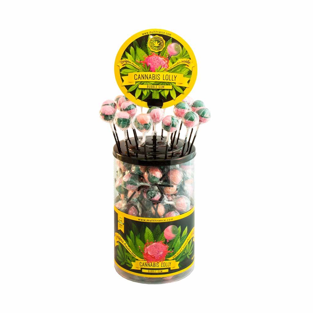 Cannabis Bubble Gum Lolly – Singles
