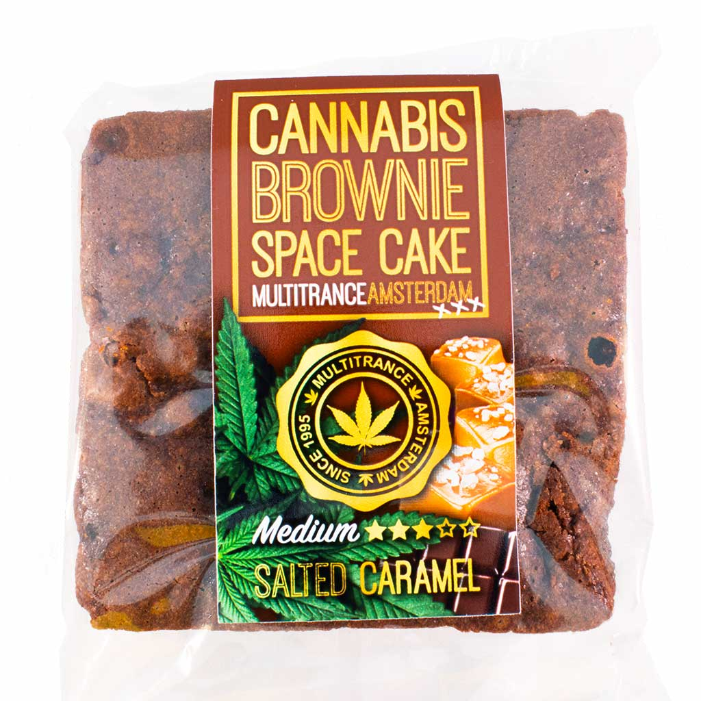 Cannabis Caramel Brownie (Medium Sativa Flavour)