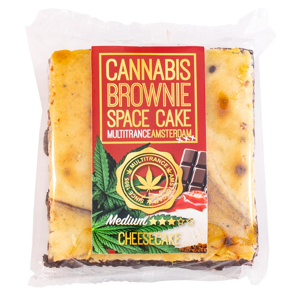 Cannabis Cheesecake Brownie (Medium Sativa Flavour)