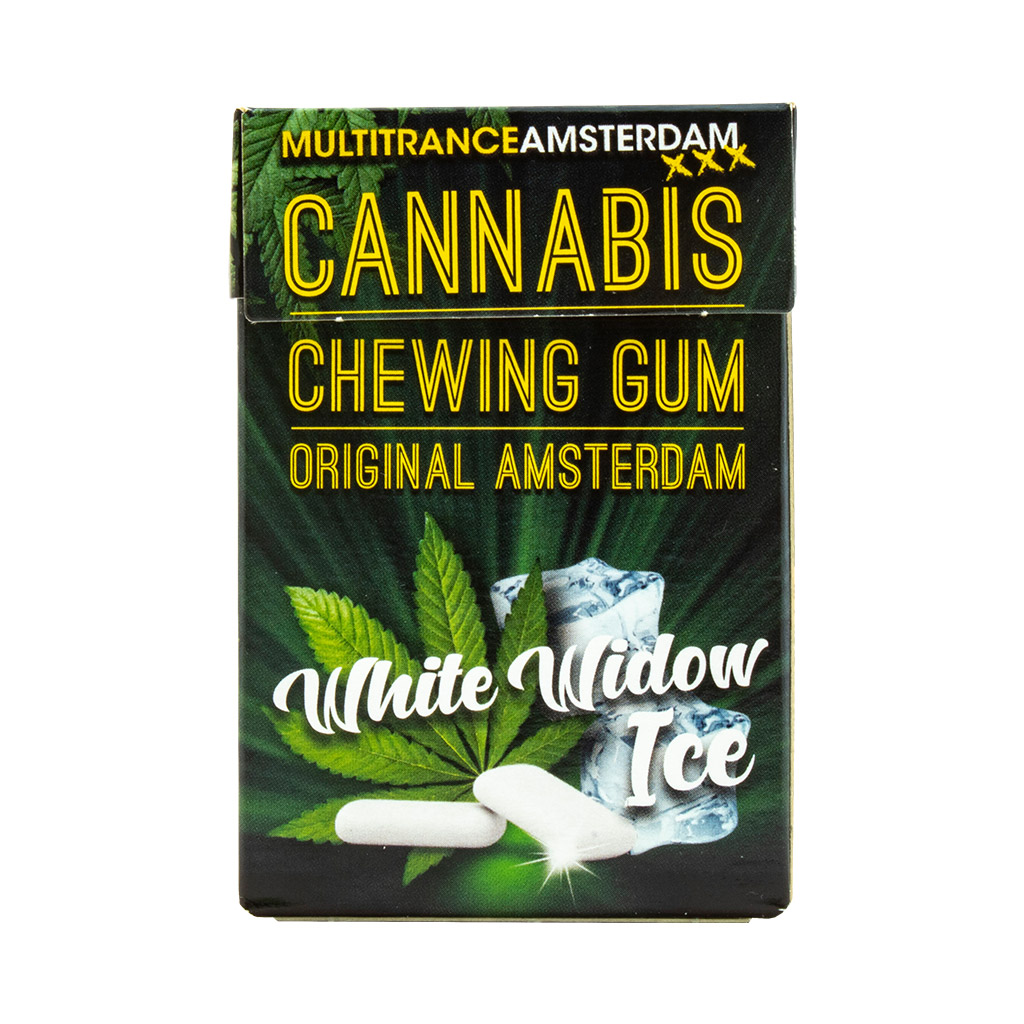 Cannabis White Widow Ice Chewing Gum (Sugar Free)