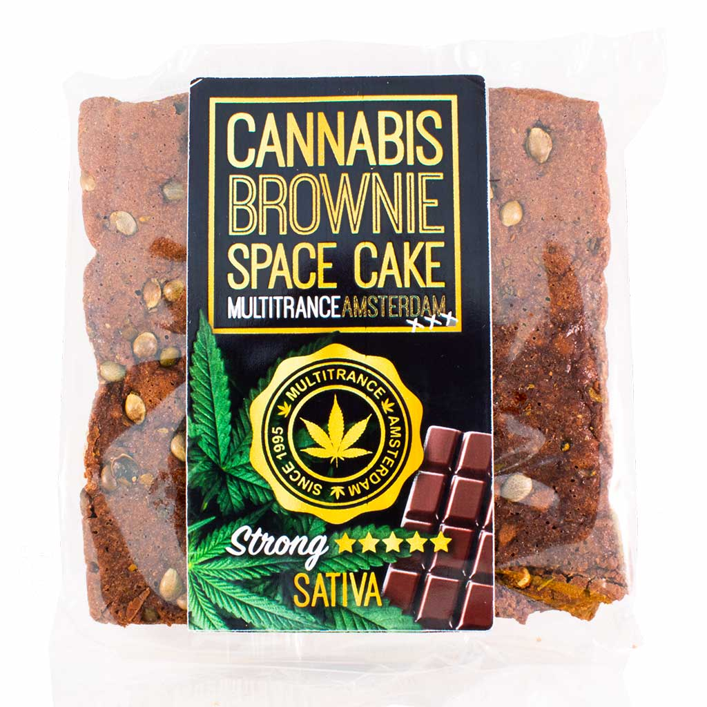 Cannabis Chocolate Brownie (Strong Sativa Flavour)