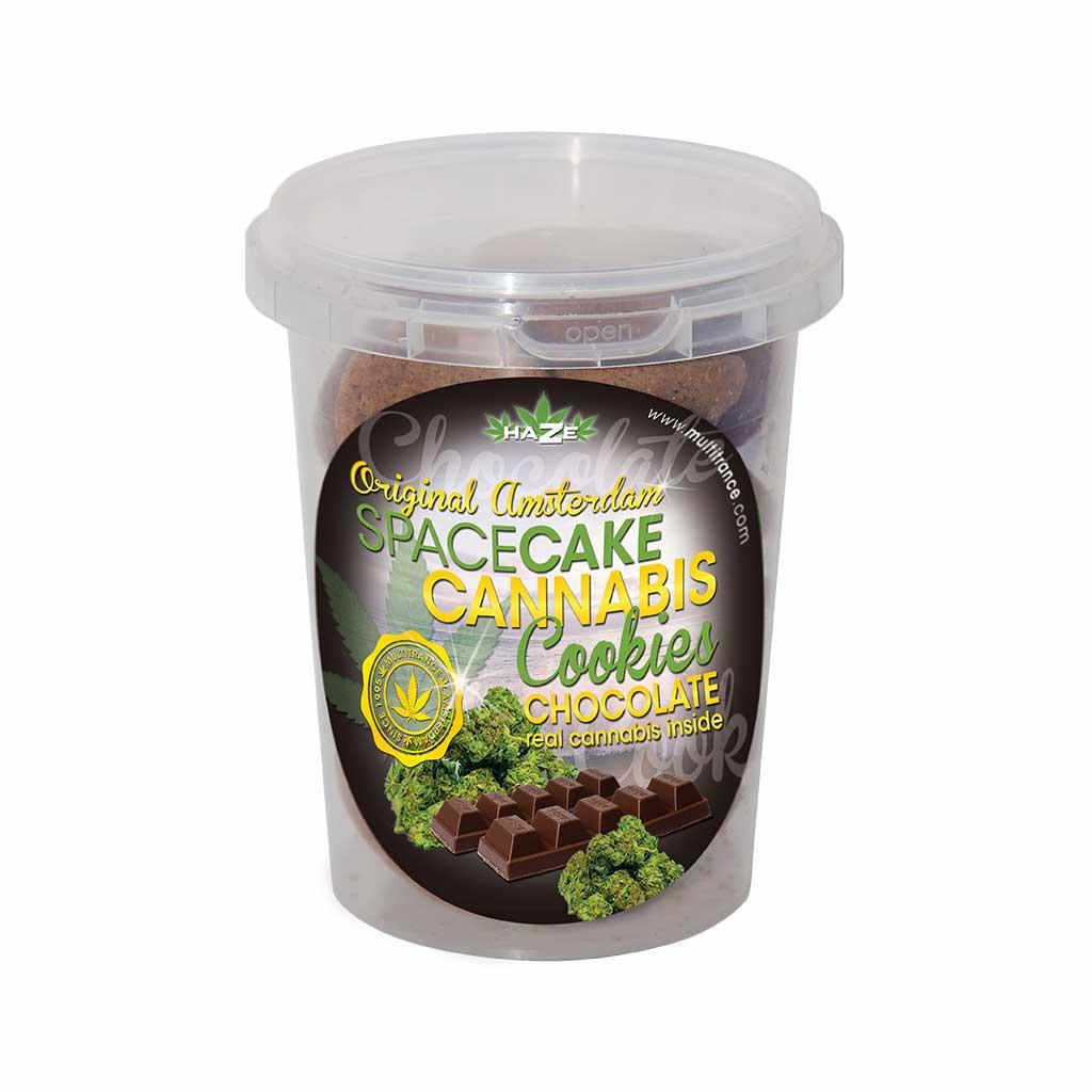HaZe Cannabis Chocolate Cookies