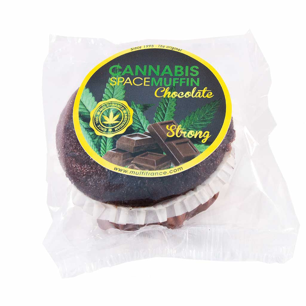 Cannabis Chocolate Muffin