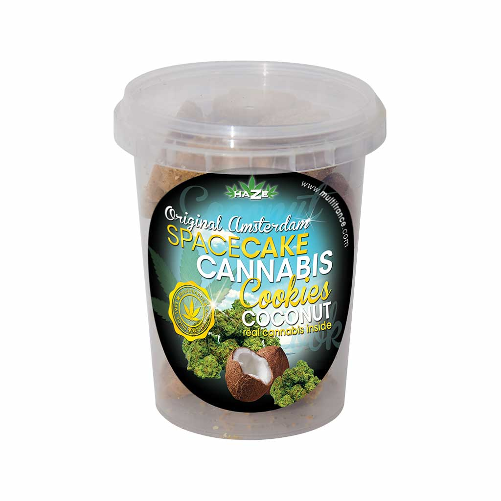 HaZe Cannabis Coconut Cookies