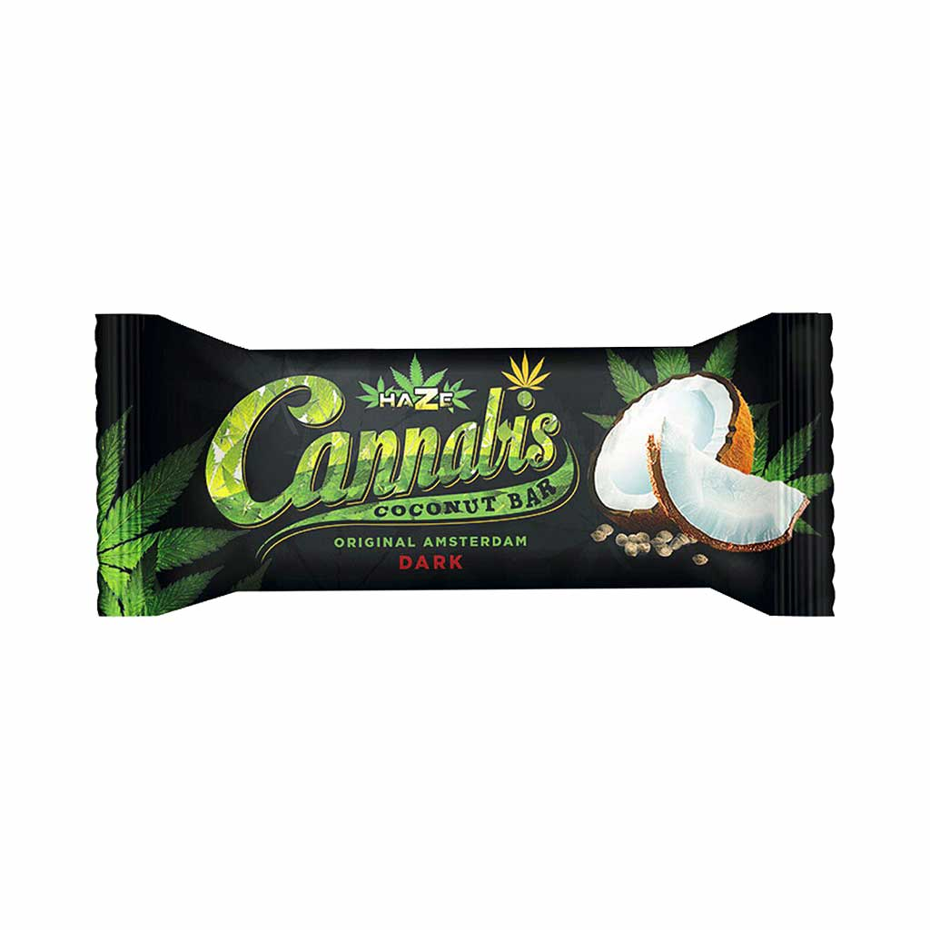HaZe Cannabis Coconut Dark Chocolate Bar