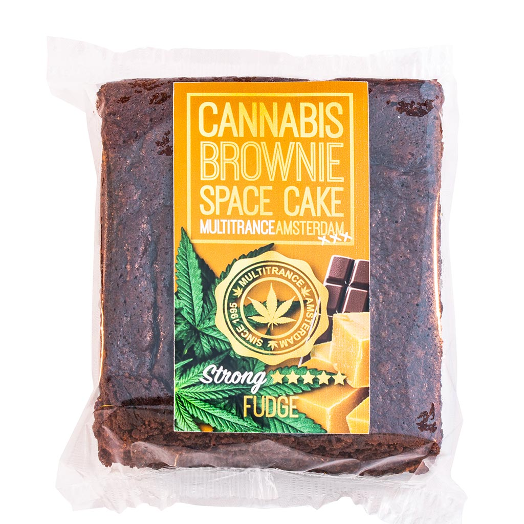 Cannabis Fudge Brownie (Strong Sativa Flavour)