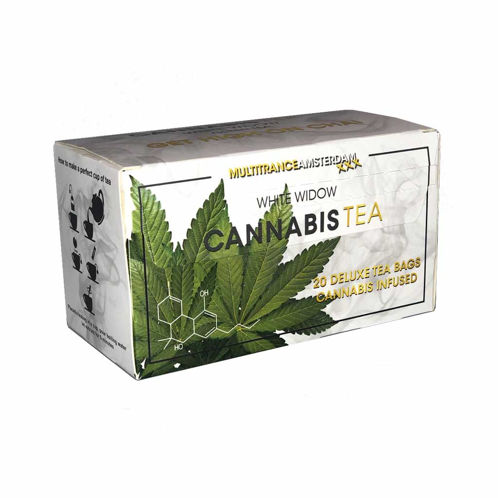 Cannabis White Widow Green Tea (Box of 20 Teabags)
