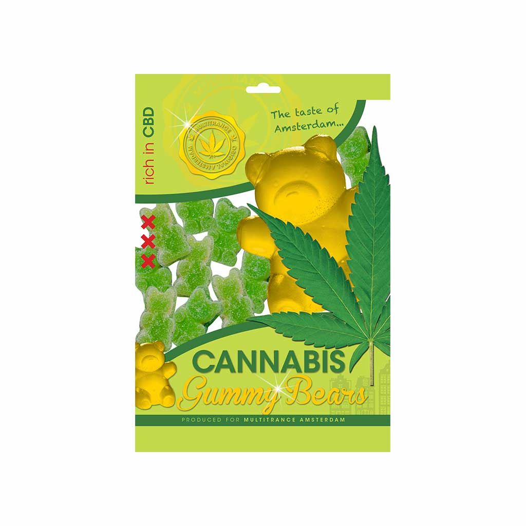 Cannabis CBD Gummy Bears