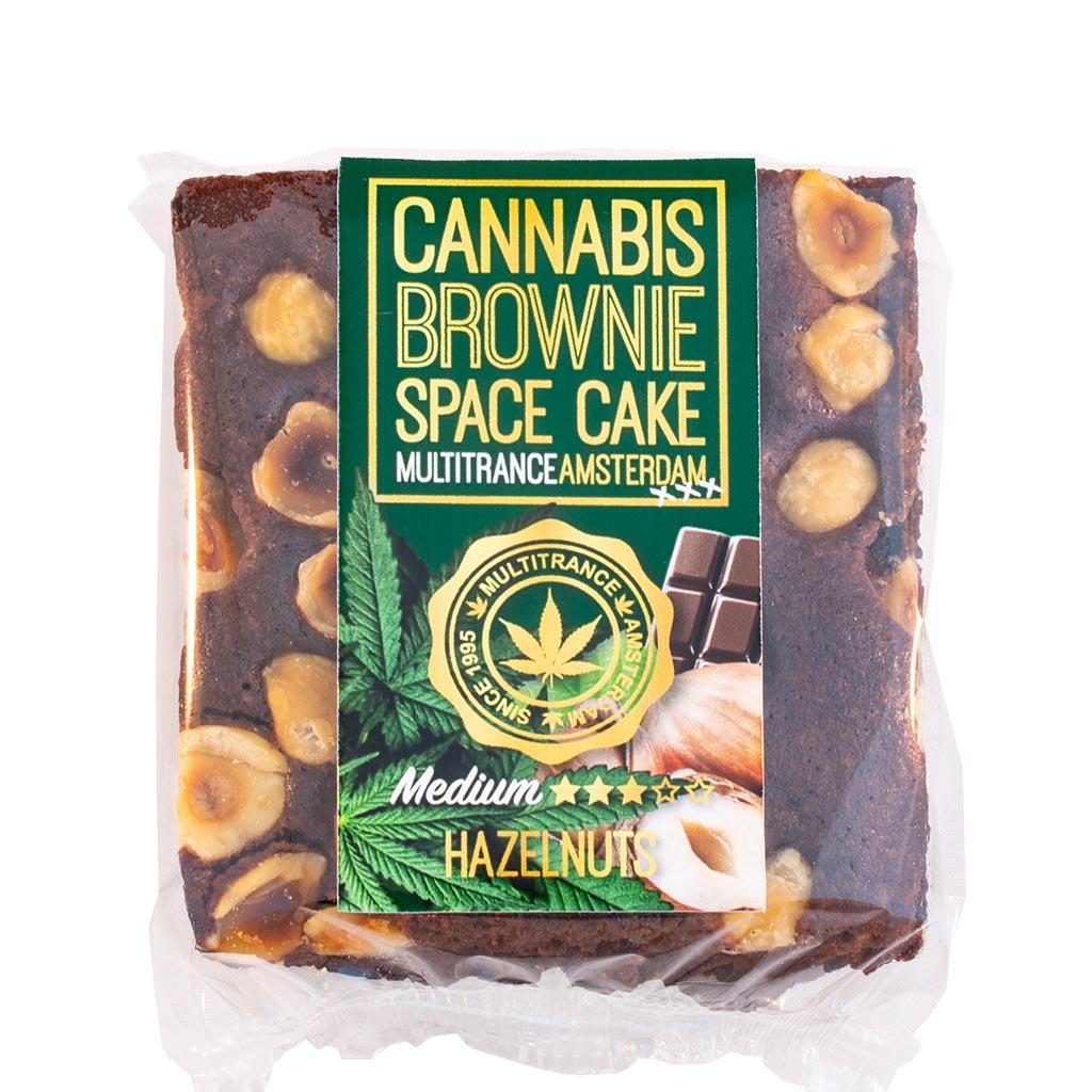 Cannabis Hazelnut Brownie (Medium Sativa Flavour)