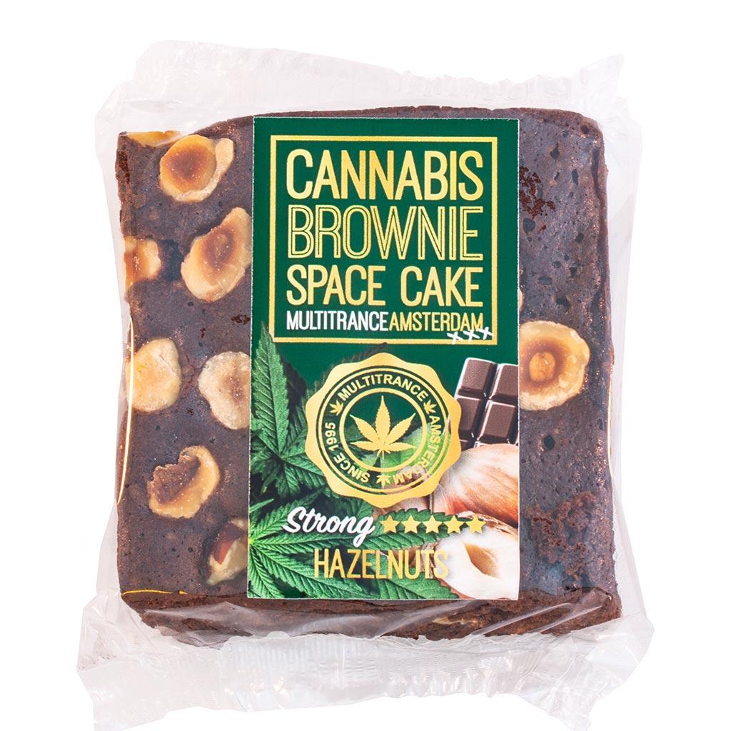 Cannabis Hazelnut Brownie (Strong Sativa Flavour)