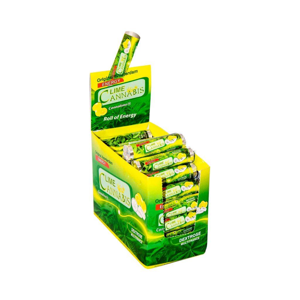 Cannabis Dextrose Lime Roll