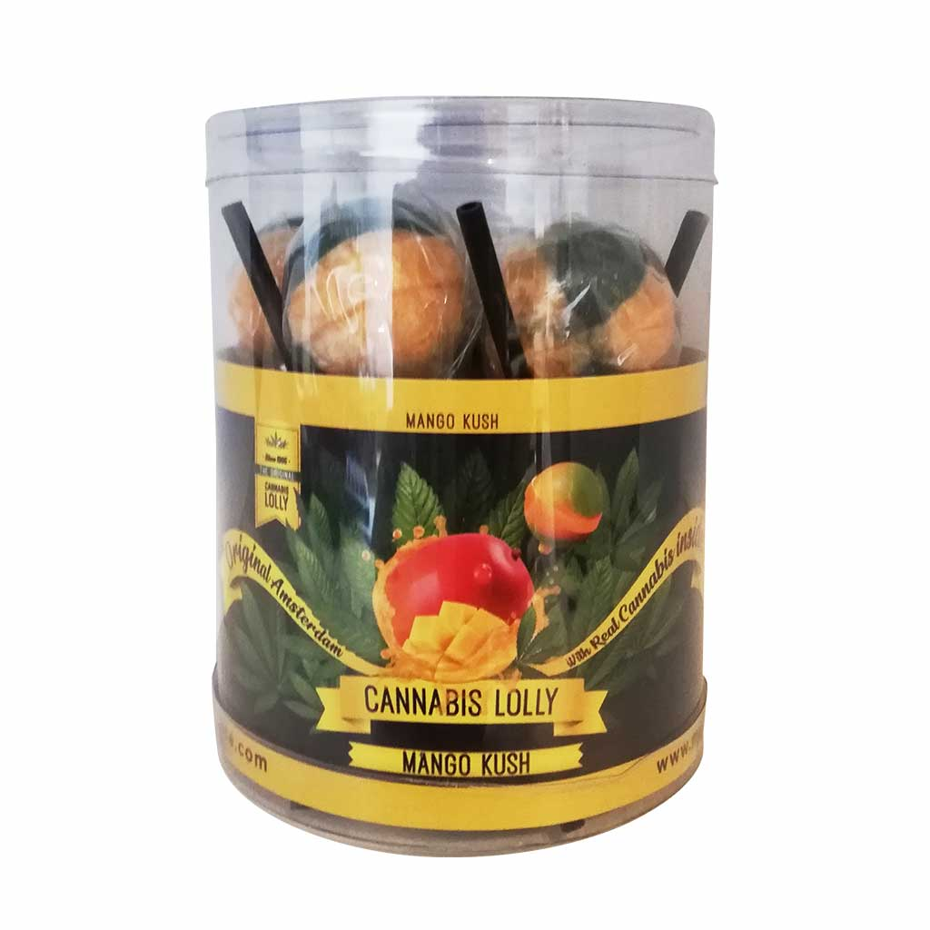 Cannabis Mango Kush Lollies – Gift Box (10 Lollies)