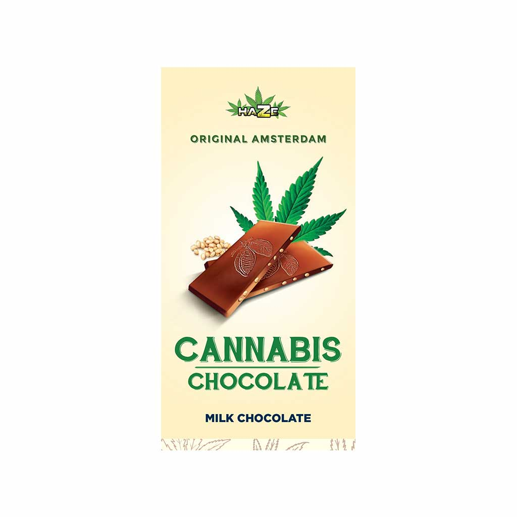 HaZe Cannabis Milk Chocolate