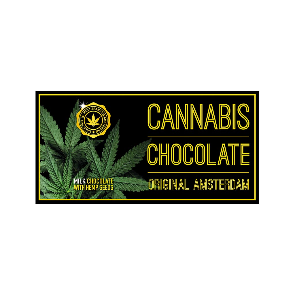 Original Amsterdam Cannabis Milk Chocolate