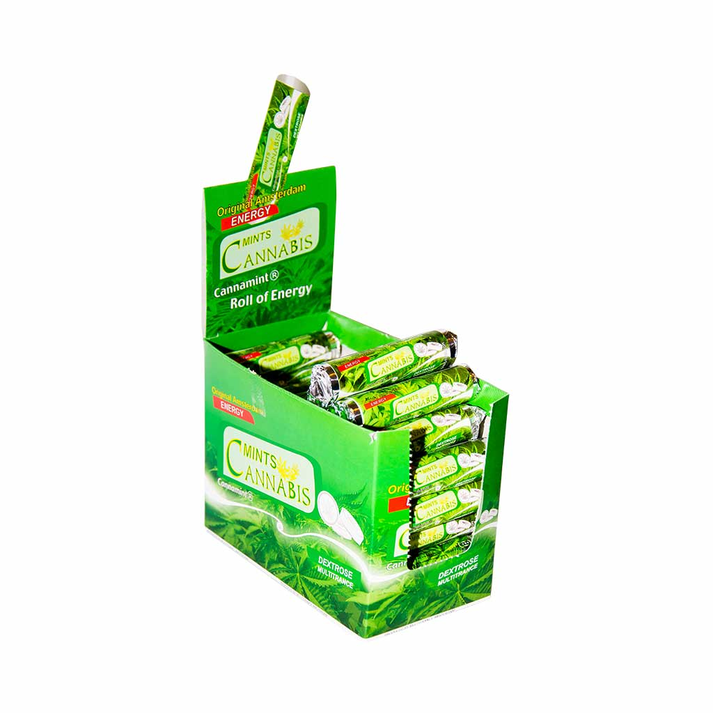 Cannabis Dextrose Mint Roll