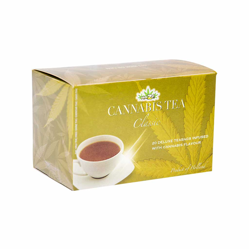 Cannabis Classic Black Tea (Box of 20 Teabags)