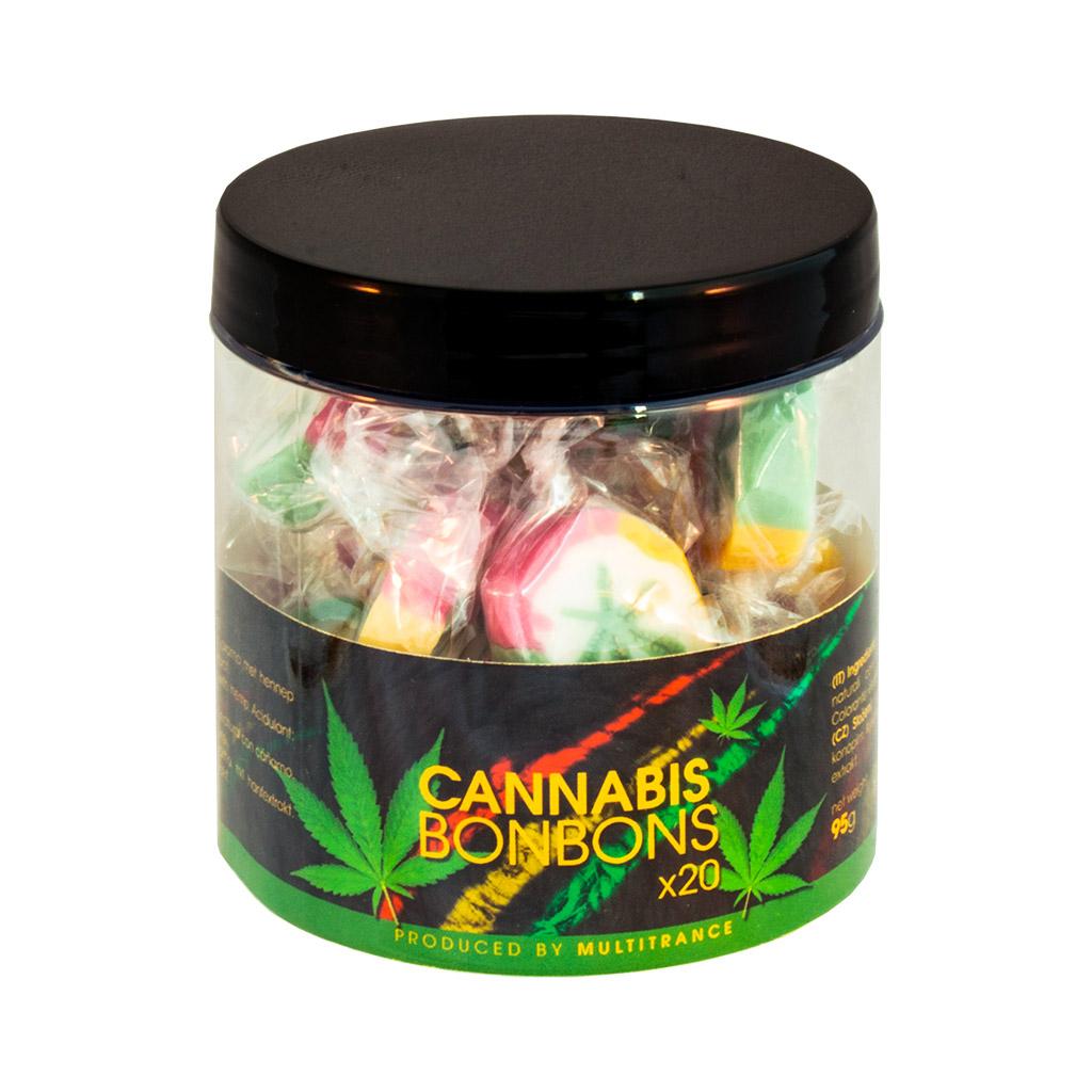 Rasta Cannabis Bonbons – Gift Box (20 Bonbons)