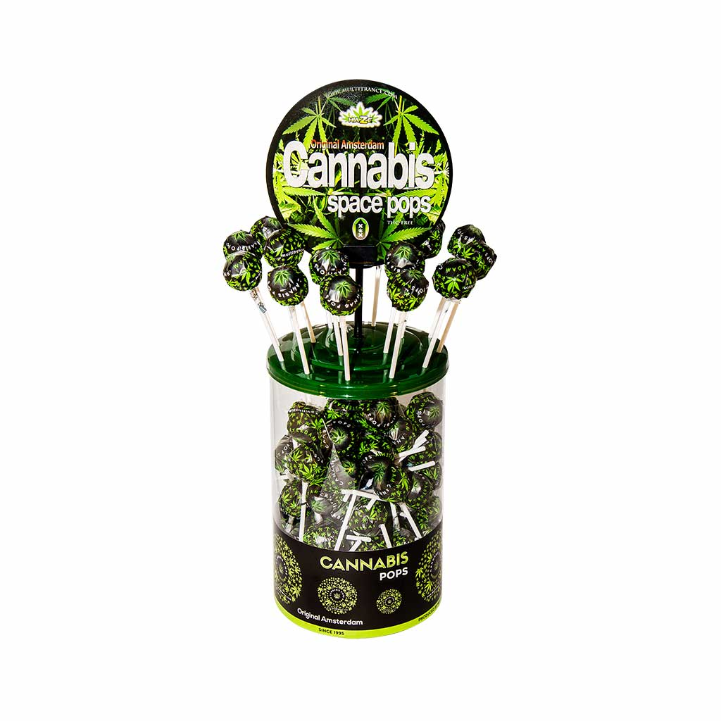 Cannabis Space Pops Lolly – Singles