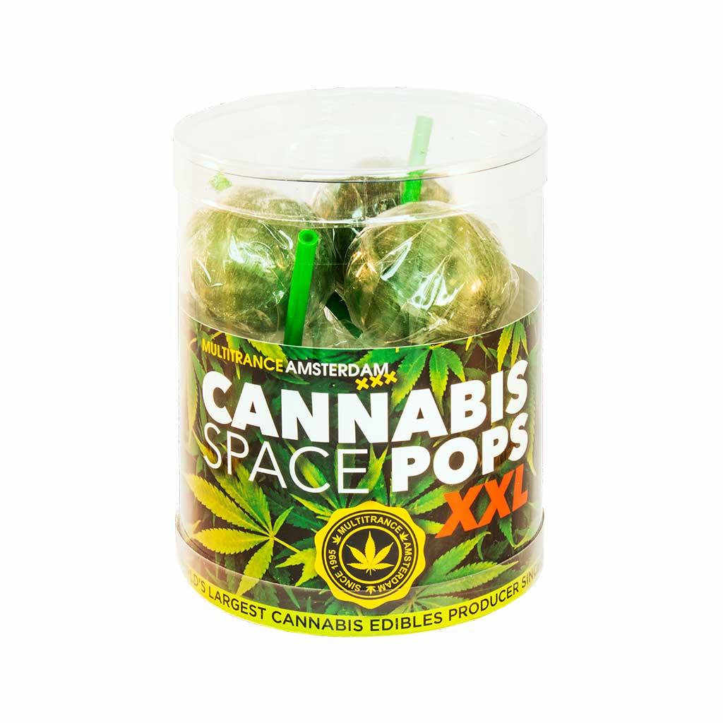 Cannabis XXL Space Pops – Gift Box (6 Lollies)