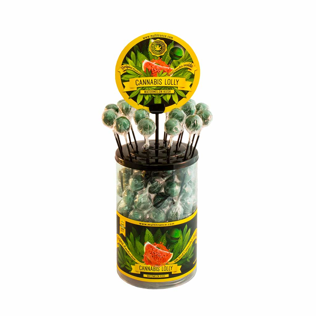 Cannabis Watermelon Kush Lolly – Singles