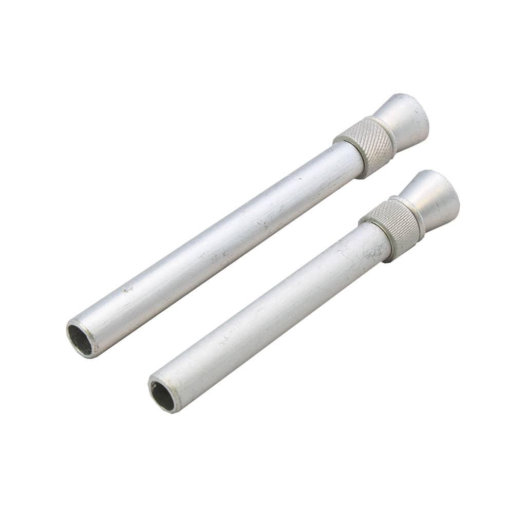 Metal pipe down adapter 2