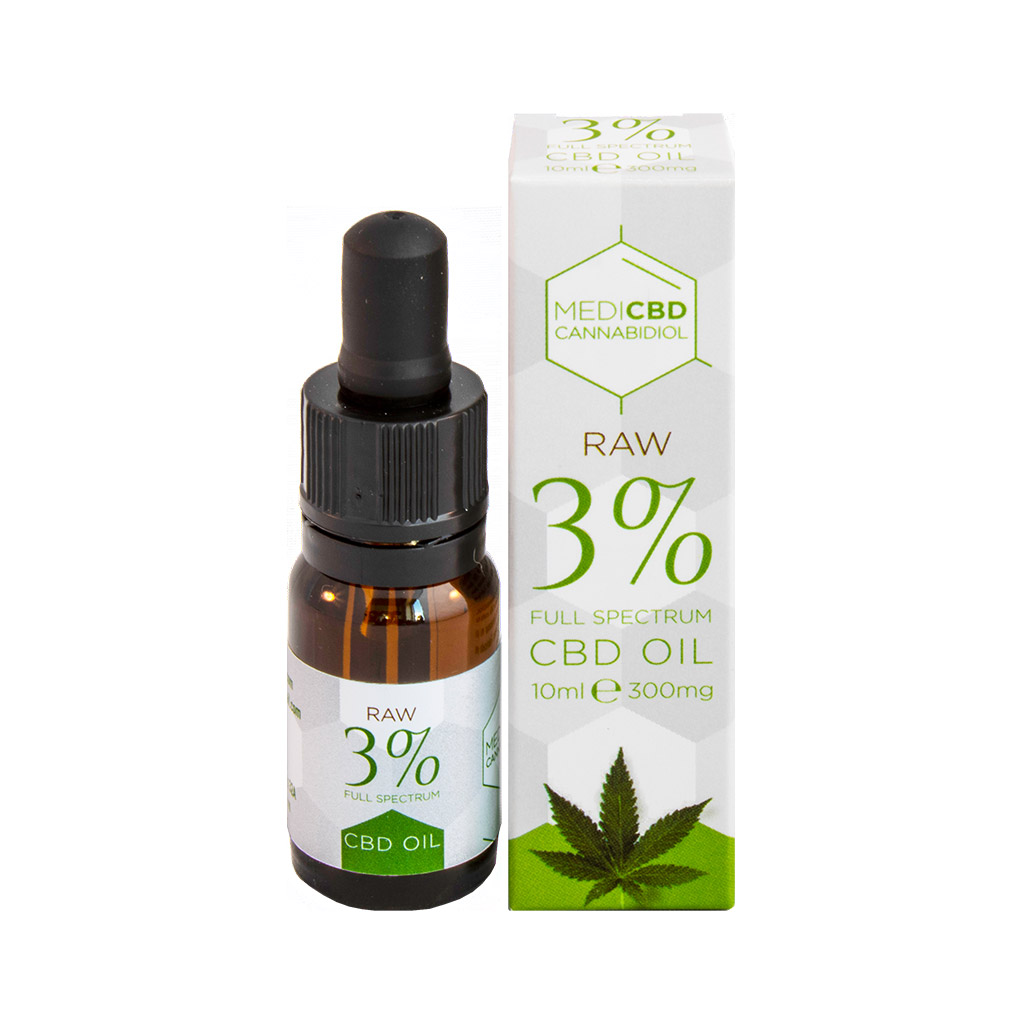 Medi CBD 3% Cannabidiol Oil (10ml)