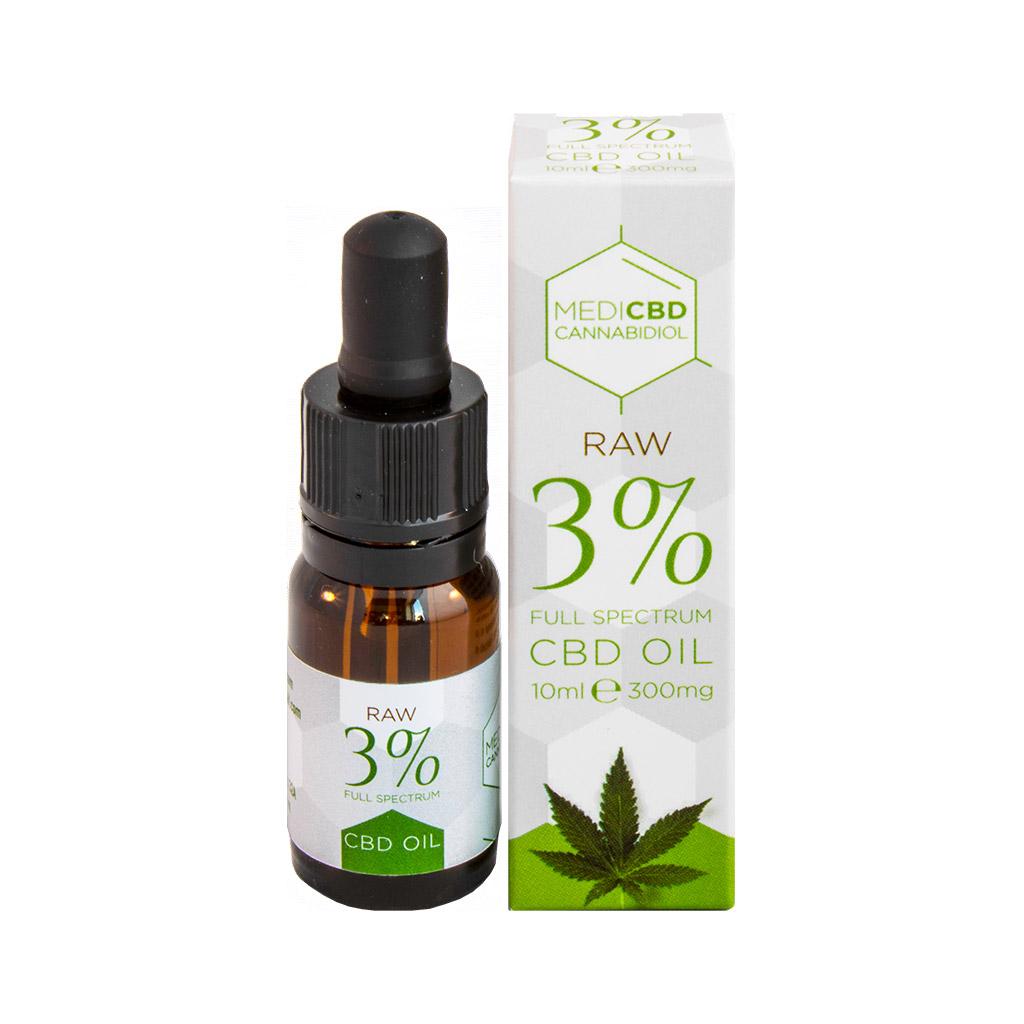 a 10ml bottle of Multitrance full spectrum 3% CBD oil