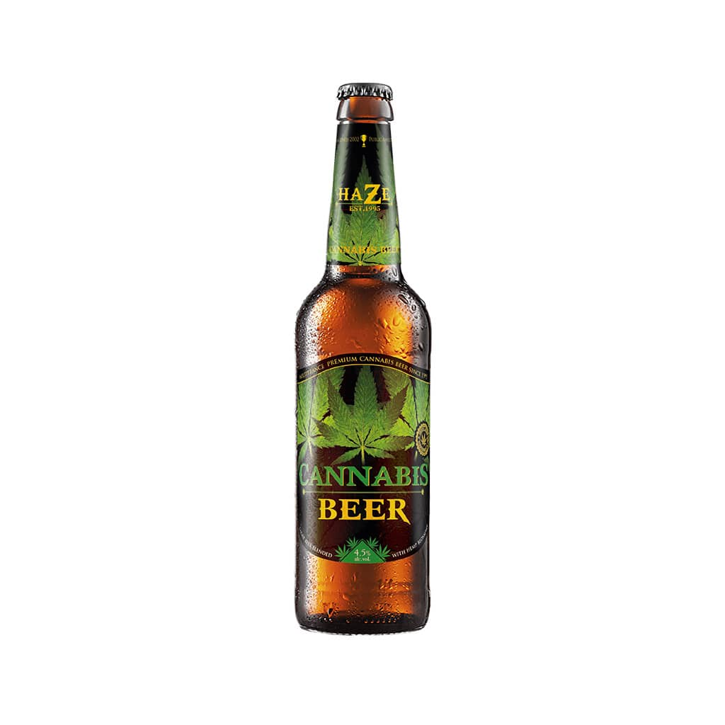 Cannabis Green Leaf Beer (330ml)