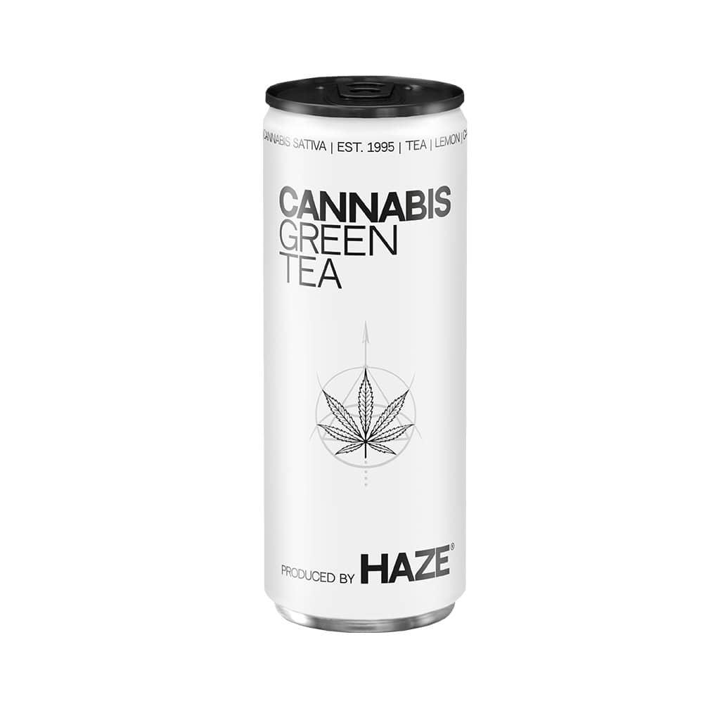 HaZe Cannabis Green Tea (250ml)