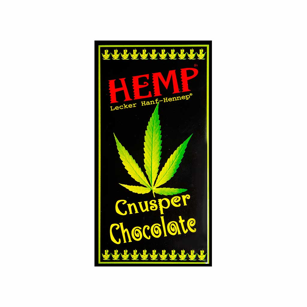 a delicious slab of Multitrance hemp flavoured coffee chocolate