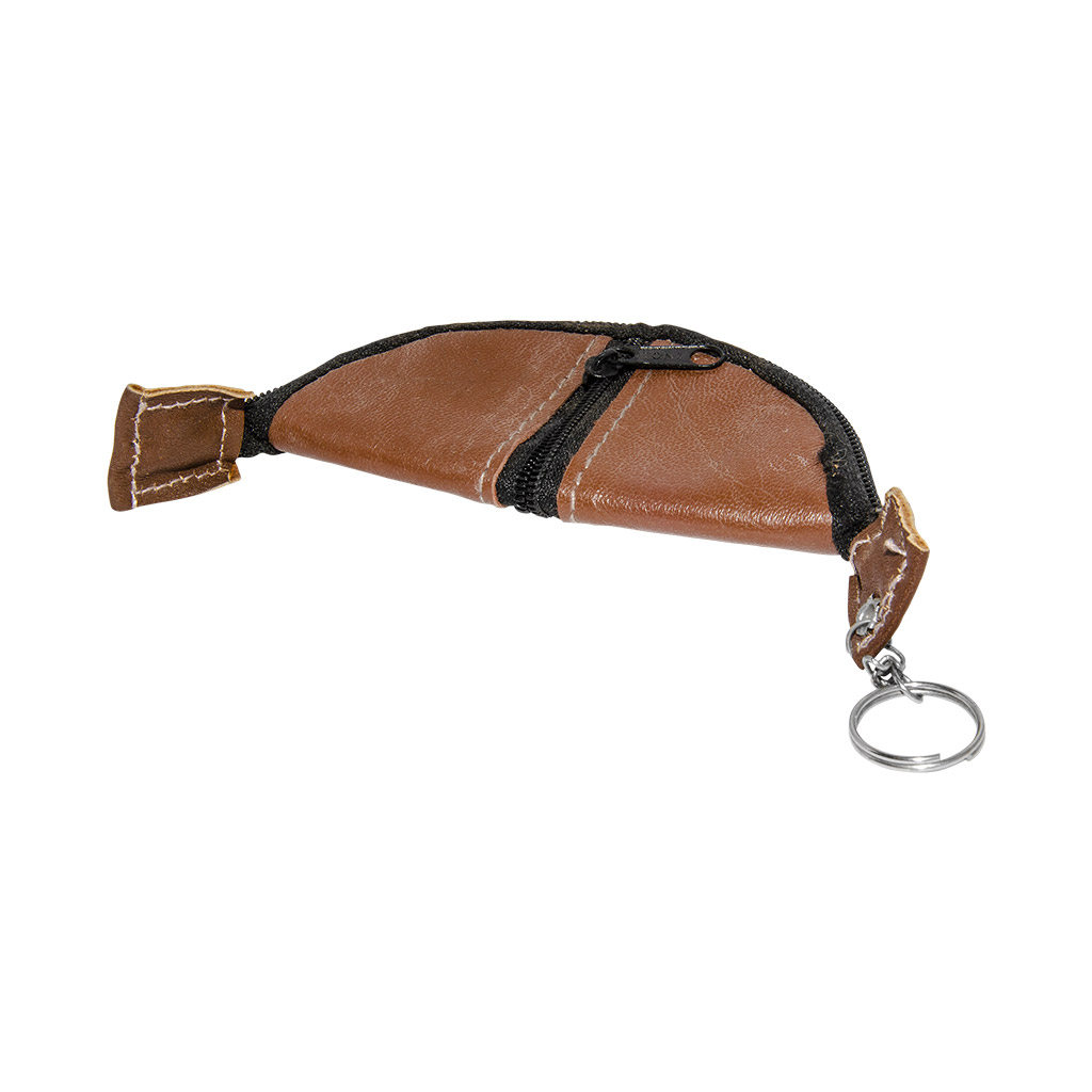 Pouch Bag Keychain (Brown)