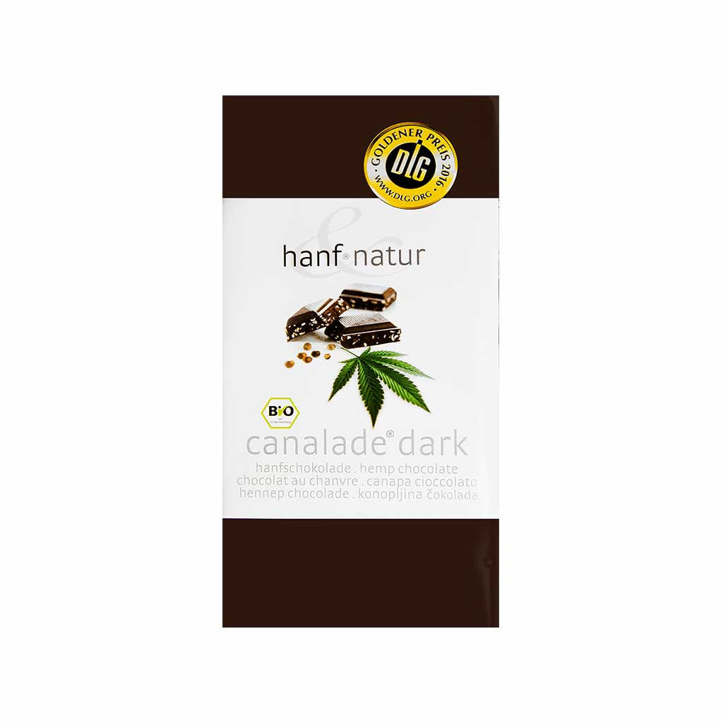 Canalade Bio Organic Hemp Dark Chocolate